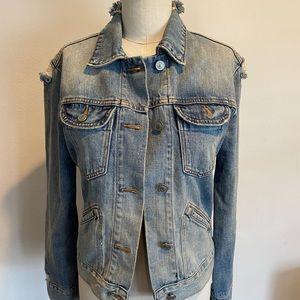 Allsaints Star Denim Jacket